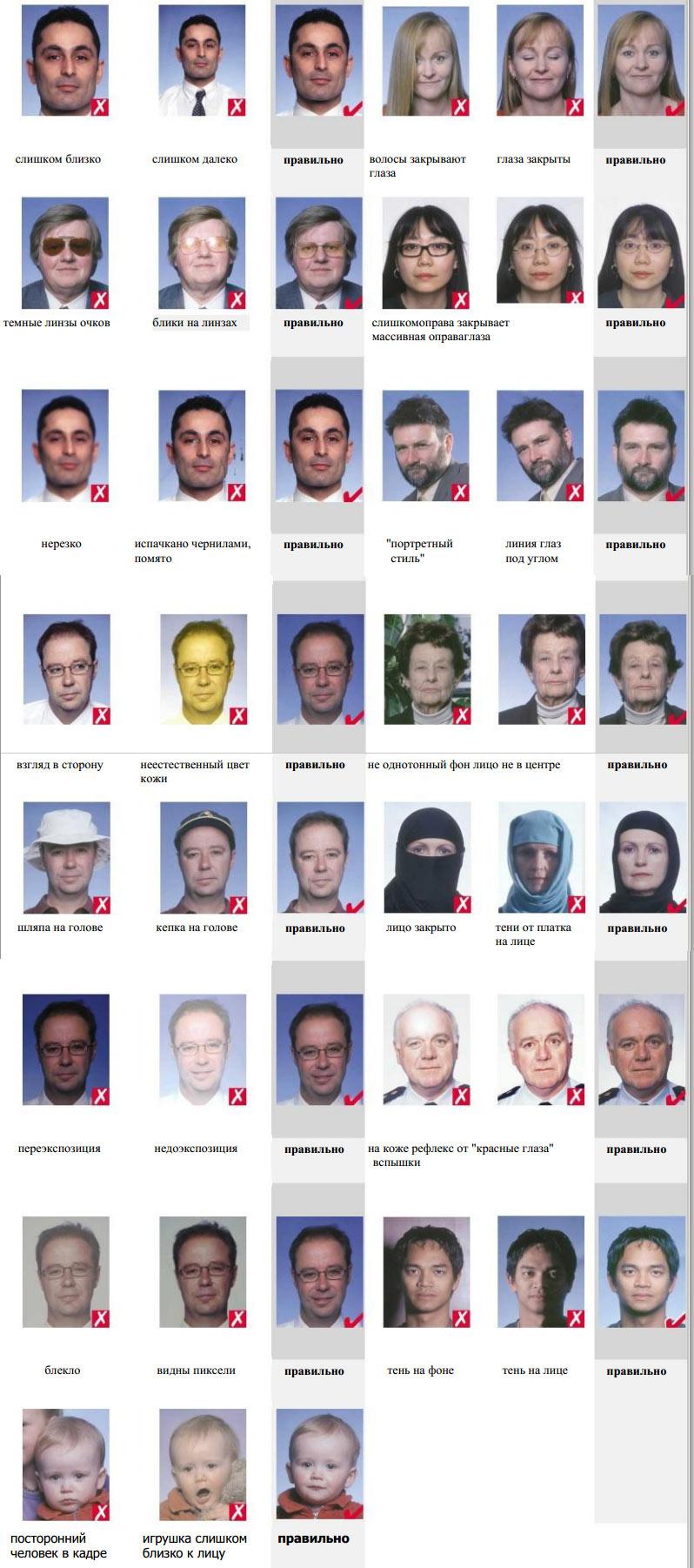 Требования к фото на шенген для ребенка