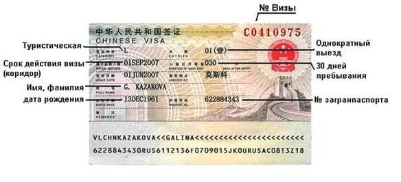 Виза в Китай для россиян: как оформить её самостоятельно, полная инструкция