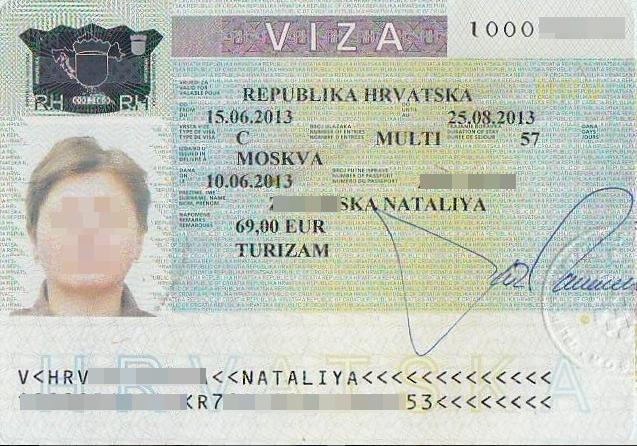 Хорватия: виза для россиян в 2018 году оформляется за 5-10 дней