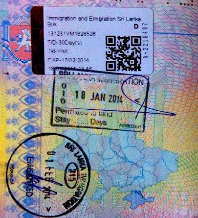 Как получить визу Шри-Ланки россиянам за 5 минут самостоятельно