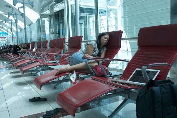 транзитная зона аэропорта Дубаи