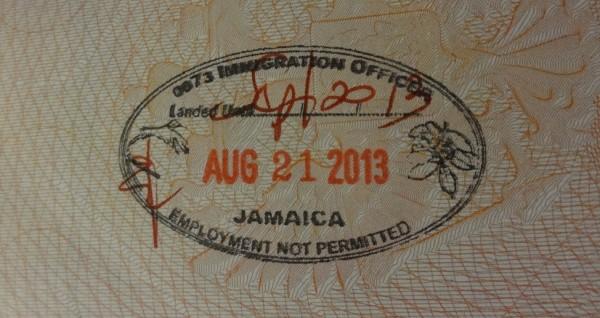 Штамп Ямайки