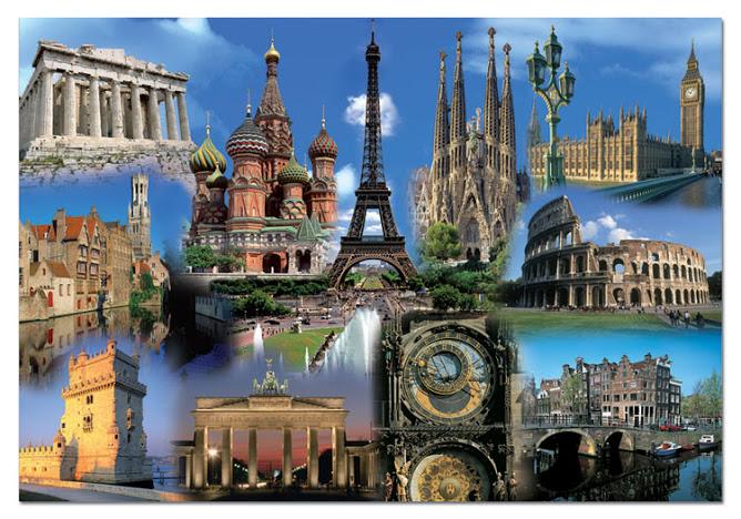 Красивые места Европы