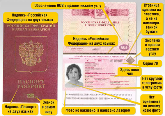 Пакет Документов Для Получения Загранпаспорта Нового Образца - фото 3