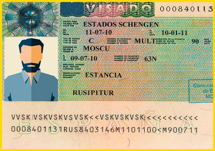 шенгенская виза с биометрией