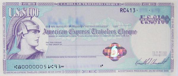 Чек American Express