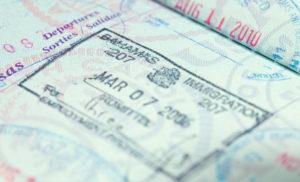 Багамский штамп в паспорте
