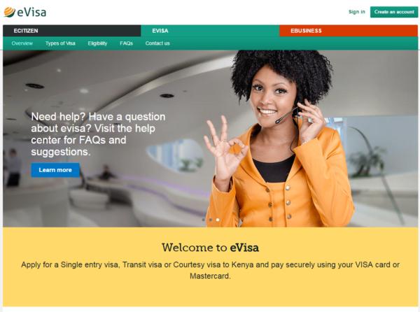 Сайт по оформлению визовых разрешений