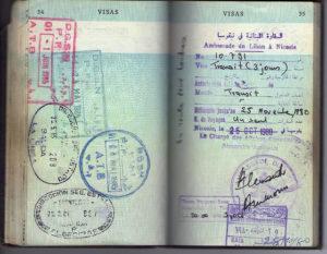 Визовое разрешение в Ливан