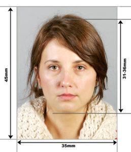 Параметры фото на визу