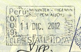 Иммиграционный штамп