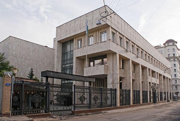 Здание Посольства Узбекистана в Москве