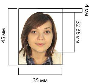 Параметры фото на визовое разрешение
